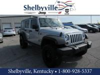 CARFAX One-Owner. Clean CARFAX. Black 2012 Jeep