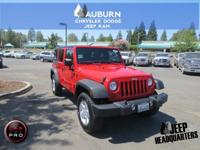 LOW MILES, HARD TOP, 4WD!!  This 2012 Jeep Wrangler