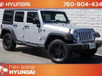 Clean CARFAX. Bright Silver Metallic 2012 Jeep Wrangler