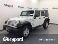 Sport trim, Bright White Clear Coat exterior. 4x4,