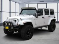 White 2012 Jeep Wrangler Unlimited Sport 4WD 5-Speed