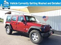 Climb inside the 2012 Jeep Wrangler Unlimited! Roomy,