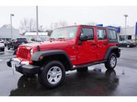 Get excited about the 2012 Jeep Wrangler Unlimited!