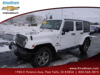 Options:  2012 Jeep Wrangler Unlimited Sport Bright