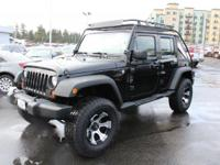 Just Reduced! Jeep Wrangler Black  Options:  Four Wheel