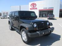 Recent Arrival! 2012 Jeep Wrangler Unlimited Sport 3.6L