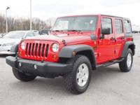 Get ready to go for a ride in this 2012 Jeep Wrangler