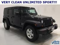 Options:  2012 Jeep Wrangler Unlimited Sport|Alloy