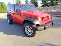 Depart from the beaten path with our iconic 2012 Jeep
