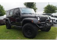 Step into the 2012 Jeep Wrangler Unlimited! Packed with