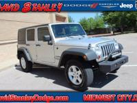 Wrangler Unlimited Sport, Automatic, and 4WD. Nice SUV!