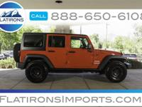 Flatirons Imports is offering this 2012 Jeep Wrangler