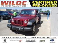 Options:  2012 Jeep Wrangler Unlimited Sport|Deep