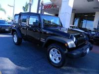 2012 Jeep Wrangler Unlimited Sport. Engine/Powertrain: