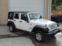 New Price! CARFAX One-Owner. Bright White 2012 Jeep