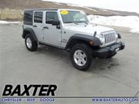 Jeep Certified, Superb Condition, CARFAX 1-Owner, ONLY