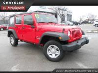 2012 Jeep Wrangler Unlimited SUV Sport Our Location is: