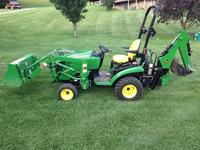 2012 John Deere 1026r. The tractor is in great