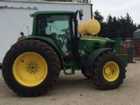 2012 JOHN DEERE 6430 PREMIUM, 660 HOURS, 4WD, 24 Speed