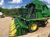 2012 JOHN DEERE COTTON PICKER FOR SALE IN EDINGBURG,