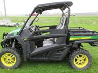 You are looking at a 2012 John Deere Gator RSX 850i