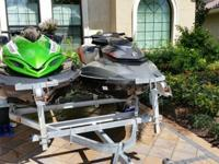 2012 Kawasaki Jet Ski Ultra 300X - Green use only 3