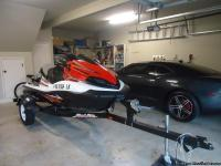 2012 Kawasaki Jet ski Ultra LX.  with ( haul rite