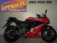 2012 Kawasaki Ninja 250 for sale with only 1,175 miles!