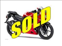 2012 Kawasaki Ninja 250R Demo low miles This price is