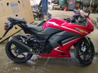 2012 Kawasaki Ninja 250R fixed prepared Clean little