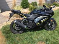 2012 Kawasaki Ninja 250R. 3260 miles. Runs great.