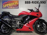 2012 Kawasaki Ninja 250R for sale only $3,499! Payments