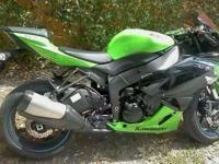 2012 kawasaki ninja 600 2,000 miles Color: Green $7,500