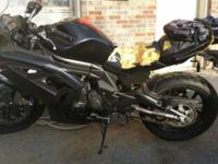 2012 Kawasaki Ninja 650, 1,300 miles, one owner, garage