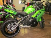 Make:KawasakiYear:2012Condition:New Ninja 650 All-new