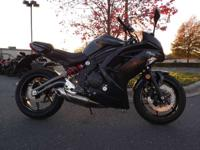 2012 Kawasaki Ninja 650 GREAT CONDITON! All-new Chassis