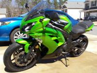 Year: 2012Exterior Color: Green Make: KawasakiEngine