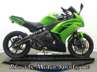 2012 Kawasaki Ninja 650 EX650ECF with 9,500 Miles. This