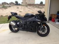 Selling my 2012 Kawasaki Ninja ZX-6R. I am the first