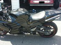 ,,,,2012 Ninja 14 R like new condition mild drive road