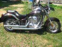 Like new 2012 Kawasaki Vulcan 900 with only$1000 miles.