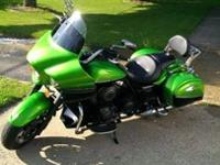 Kawasaki Vulcan Vaquero 1700 with only 5200 miles on