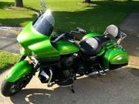 2012 Kawasaki Vulcan Vaquero 1700 with only 5200 miles