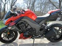 2012 Kawasaki ZR1000-DF Z1000. This Sportbike Cycle