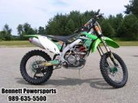 No other production motocrosser offers a higher degree