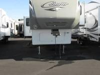 2012 Keystone Cougar 331MKS. Previously owned Certified