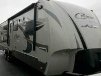 36 Travel Trailer with 3 slides - only 8,000 lbs. 8