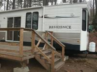 "2012 Keystone RV Residence M-406FB. ""Your Summer place"