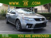 Options:  2012 Kia Forte Koup Sx Is A 100% Carfax