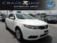 PREMIUM & KEY FEATURES ON THIS 2012 Kia Forte include,